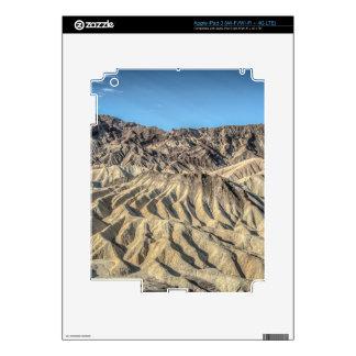 sand zabriskie mointains Death valley california p iPad 3 Decal