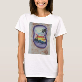 sandal in the sand T-Shirt