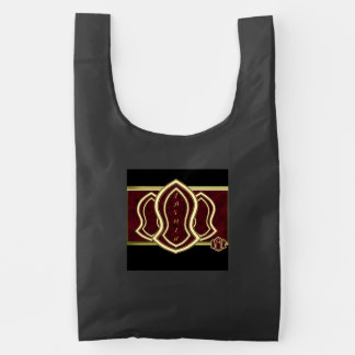 Sandal Of The Prophet (Red) Marble & Gold Reusable Bag