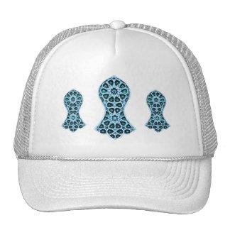 Sandalia Bejeweled del profeta (azul/verde) Gorros