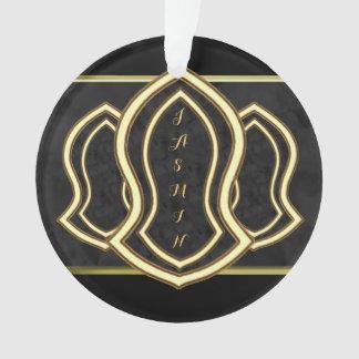 Sandalia del mármol y del oro (grises) del profeta