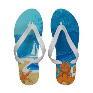 Sandalias de la playa de las mujeres