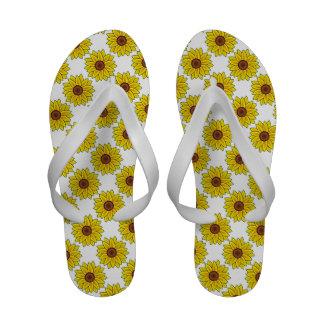 Sandalias de los flips-flopes del diseño del giras