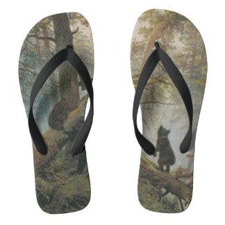 Sandalias del arte del bosque de Shiskin