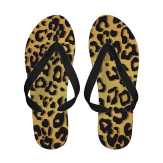 Sandalias del flip-flop del guepardo de las mujere