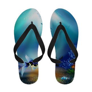 Sandalias subacuáticas del flip-flop de las mujere