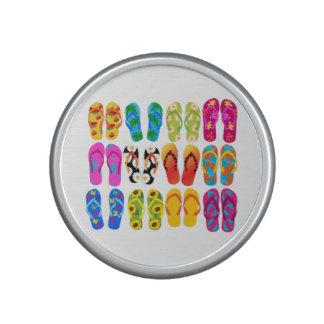 Sandals Colorful Fun Beach Theme Summer Bluetooth Speaker