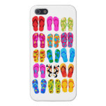 Sandals Colorful Fun Beach Theme Summer iPhone 5/5S Cases