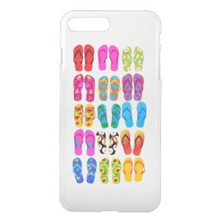 Sandals Colorful Fun Beach Theme Summer iPhone 8 Plus/7 Plus Case
