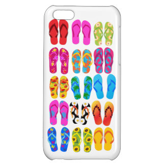 Sandals Colorful Fun Beach Theme Summer Case For iPhone 5C