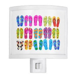 Sandals Colorful Fun Beach Theme Summer Night Lites