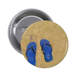 Sandals in the Sand 2 Inch Round Button