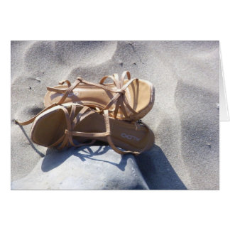 Sandals in the Sand Card
