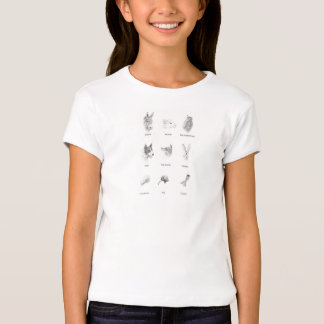 Sandals of the King Characters Girl's T-shirt