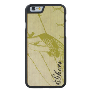 Sandals On A Wire Carved Maple iPhone 6 Case
