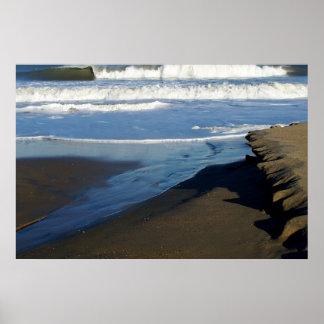 Sandbridge Beach Wave Poster