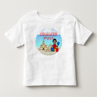 Sandcastle (Black Boy) Toddler T-Shirt