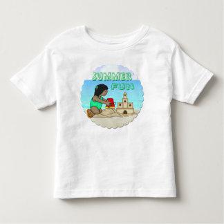 Sandcastle (Black Girl) Toddler T-Shirt