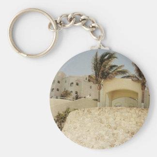 Sandcastle Cancun Keychain