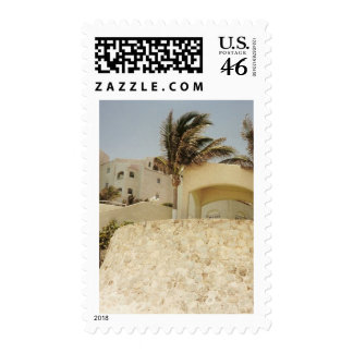 Sandcastle Cancun Stamp