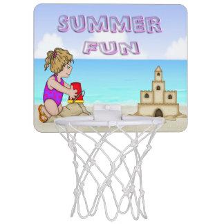 Sandcastle (Girl) Mini Basketball Hoop