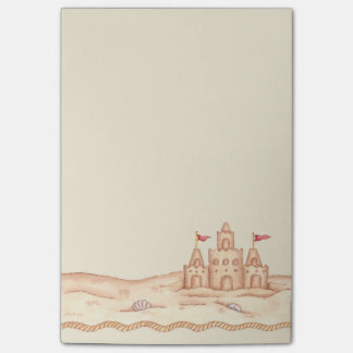Sandcastle Post-it Notes