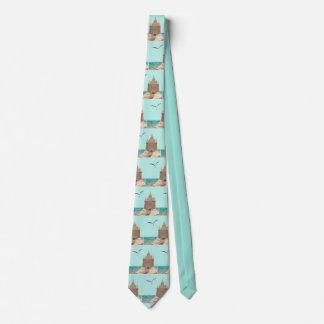 Sandcastle Seagull necktie