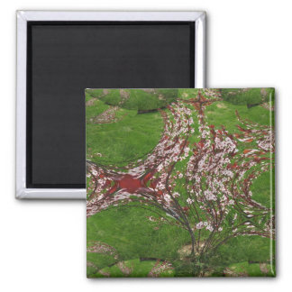 sandcherry art fractal magnet