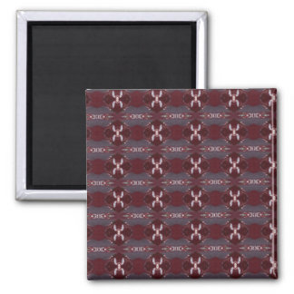 Sandcherry Tree Pattern Items 2 Inch Square Magnet