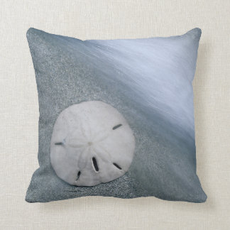 Sanddollar on Beach | Sanibel Island, Florida Throw Pillow