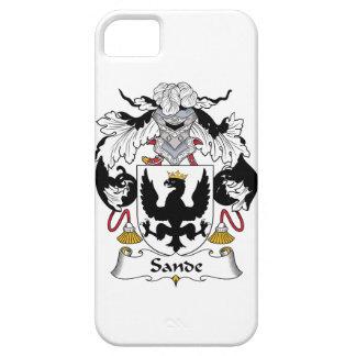 Sande Family Crest iPhone 5 Cases
