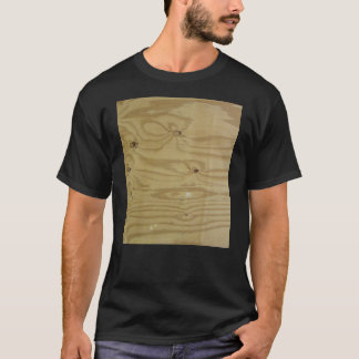 Sanded Wood Texture Background T-Shirt