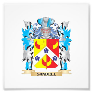Sandell Coat of Arms - Family Crest Photo Print