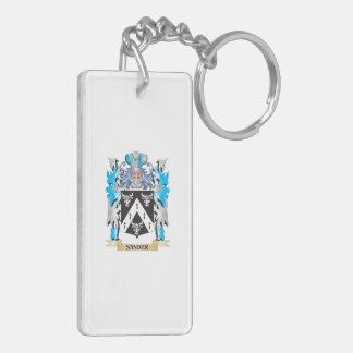 Sander Coat of Arms - Family Crest Rectangular Acrylic Keychains