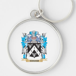 Sander Coat of Arms - Family Crest Keychains