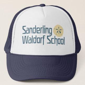 sanderling navy/white trucker hat