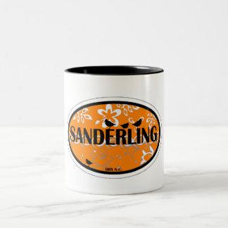 Sanderling. Taza De Dos Tonos
