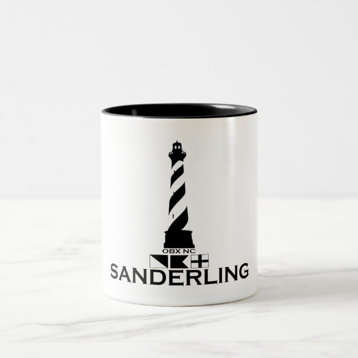 Sanderling. Two-Tone Coffee Mug