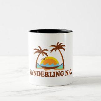 Sanderling. Two-Tone Coffee Mug