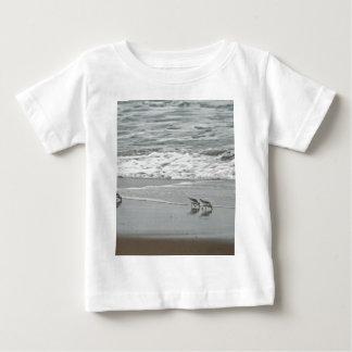 Sanderlings at Horsfall Beach, Oregon Baby T-Shirt