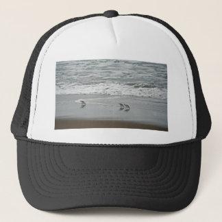 Sanderlings at Horsfall Beach, Oregon Trucker Hat