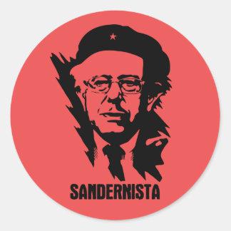 Sandernista Classic Round Sticker