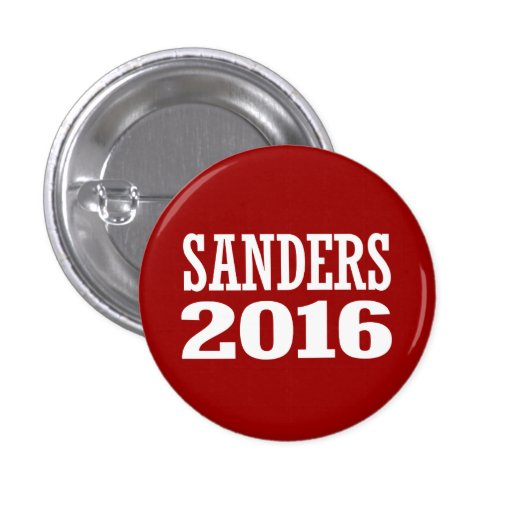 SANDERS 2016 PINS