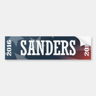 SANDERS 2016 CAR BUMPER STICKER