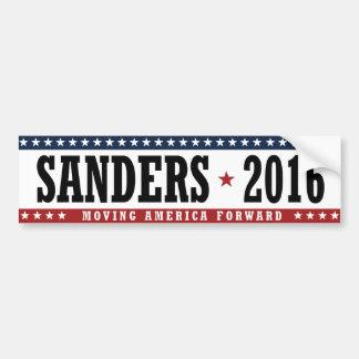 Sanders 2016 Moving America Forward Bumper -.png Car Bumper Sticker