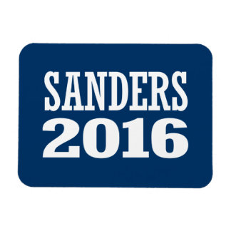 SANDERS 2016 RECTANGULAR PHOTO MAGNET