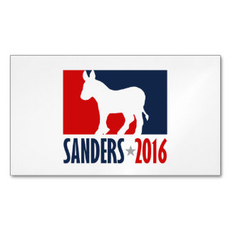 Sanders 2016 Sports Pro Magnetic Business Cards (Pack Of 25)