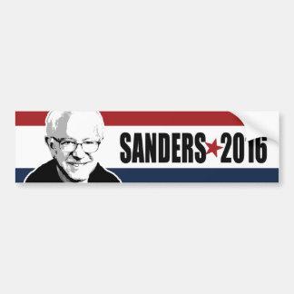 Sanders 2016 Star Red White and Blue Bumper - copy Car Bumper Sticker