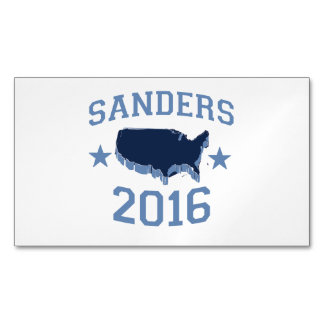 Sanders 2016 United Magnetic Business Cards (Pack Of 25)