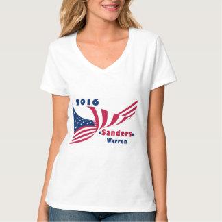 Sanders and Warren 2016 T-Shirt